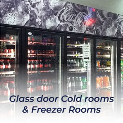 3. Gridnic Insulated Panels – Glass Door Cold Rooms & Freezer Rooms